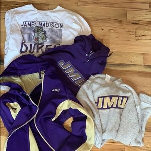 bundle of james madison merch